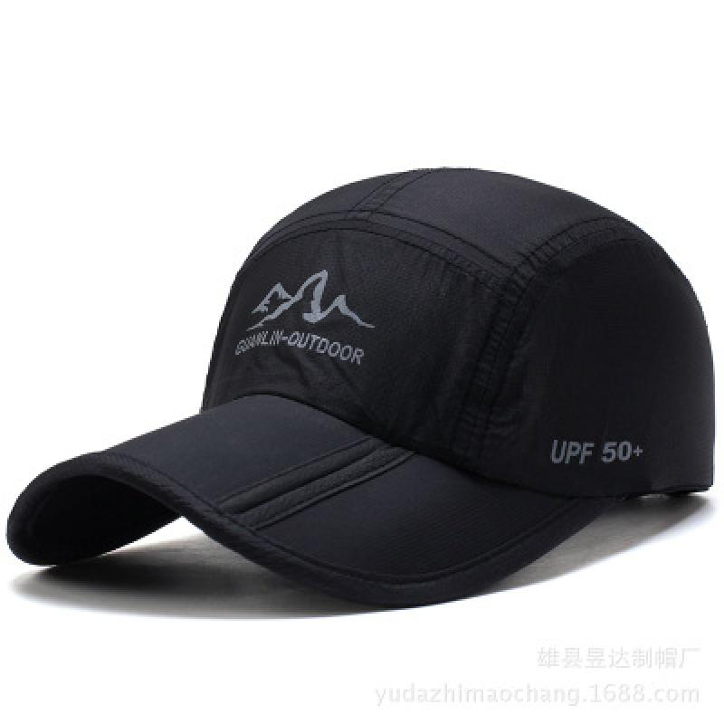 New GUANLIN-OUTDOOR Letter Printing Baseball Cap Spring Quick-drying Folding Caps Outdoor Sunshade Hat Snapback Cap