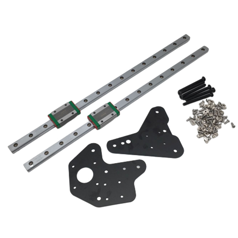 1 Set Creality CR-10 Ender 3/3Pro Dual Z Axis Hiwin MGN12H Linear Rails Kit For Creality Ender-3 Ender-3s S4 S53D Printer