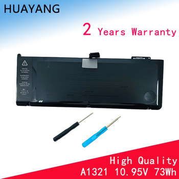 HUAYANG HIGH quality A1321 Battery for apple macbook 15 A1286 (Mid-2010) A1286 Mid 2009 version MC371