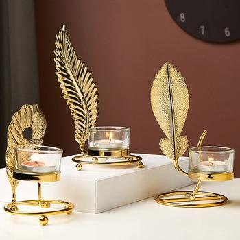 Nodic Home Decor Candle Holders 1