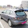 Для Mazda 3 Хэтчбек 2008 2009 2010 2011 2012 украшение автомобиля Неокрашенный задний спойлер Высокое качество ABS Материал крыша заднее крыло