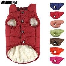 Zimowy płaszcz dla zwierząt ubrania dla psów odzież zimowa ciepłe ubrania dla psów dla małych psów boże narodzenie dużego psa płaszcz zimowe ubrania chihuahua