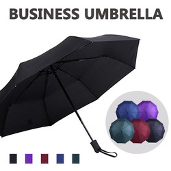Wind Resistant Fully-automatic Umbrella Rain Women For Me 2folding Gift Parasol Compact Large Travel Business Simple Parapluie