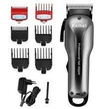 Cord cordless fade hair clipper aparador de cabelo profissional para homens barba elétrica precisão máquina de corte de cabelo 2 velocidade