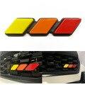 Решетка бейдж с эмблемой Grill Tri-Цвет для Tacoma ТРД 4runner Tundra Rav4 Highlander три-Цвет наклейка с логотипом на автомобиль на корпус автомобиля