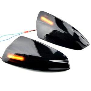 Image 3 - LED yan ayna dinamik dönüş sinyali flaşör işık için mercedes benz W204 W164 ML300 ML500 ML550 ML320 dikiz ayna lambası