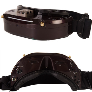 Image 3 - Original skyzone sky03o/sky03s oled versão 5.8ghz 48ch diversidade fpv óculos de proteção suporte osd dvr hdmi com cabeça rastreador fã