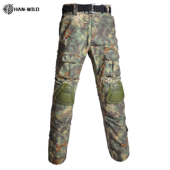 Military Uniform  Tactical Combat Shirt Us Army Clothing Tatico Tops Airsoft Multicam Camouflage Hunting FishingPants Elbow/Knee 16