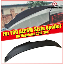 F30 Spoiler PSM style FRP Unpainted rear lip wings For BMW F30 318i 320i 325i 328i 335i 340i rear trunk Spoiler wing Lip 2012-17 for bmw f30 trunk spoiler wing frp unpainted psm style 3 series 318i 320i 325i 328i 330i 335i m3 look wing trunk spoiler 2012 17
