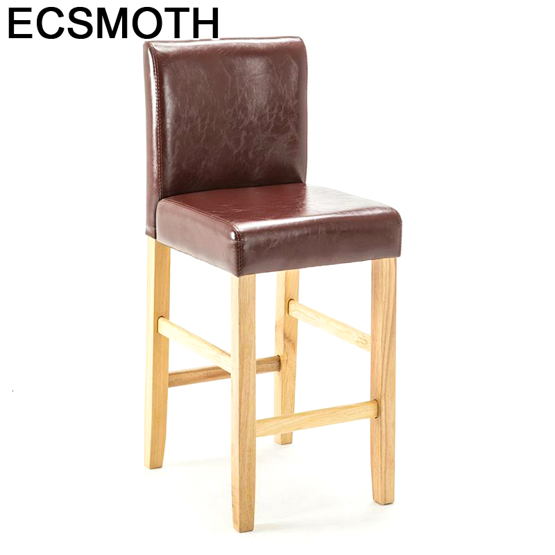 Sedie Barstool Cadir Taburete La Barra Sgabello Stuhl Hokery Table Leather Cadeira Tabouret De Moderne Stool Modern Bar Chair