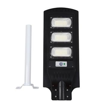 90W Solar Street Light Radars PIR Motion Sensor Light with Arm Waterproof Wall Path Lamp for Park Garden Courtyard