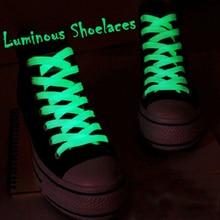 1 par de cordones de zapato reflectantes planos 60cm cordones luminosos de seguridad cordones de zapatos Unisex para deportes baloncesto zapatos de lona