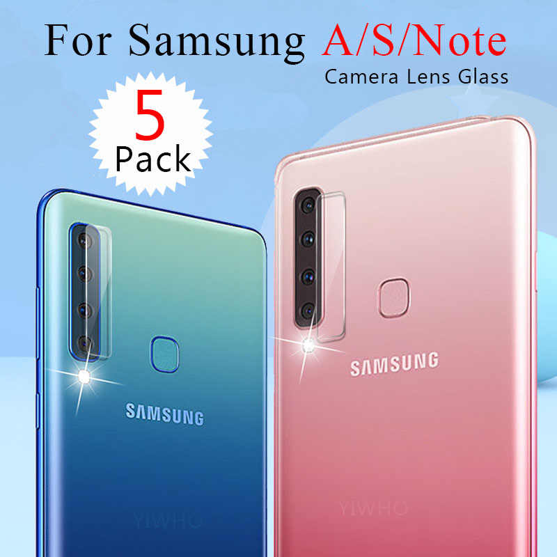 For Samsung Galaxy Note 10 Plus S10 LITE S10e Pro + A 50 30 70 40 In Camera Lens Screen Protector Film on A50 A70 A30 Back Film