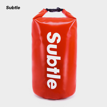 Subtle 25L Waterproof Outdoor Dry Bag Sack Water Resistant Roll-Top Closure Surfing Diving Boating Swimming Floating Backpack cheap streamtrail Subtle B1