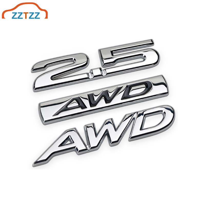DSYCAR 3D Metal Car Decoration Metal Adhesive SPORT Truck Car Badge Emblem Sticker for Universal Cars Moto Bike Car Styling Decorative Accessories Black-Red