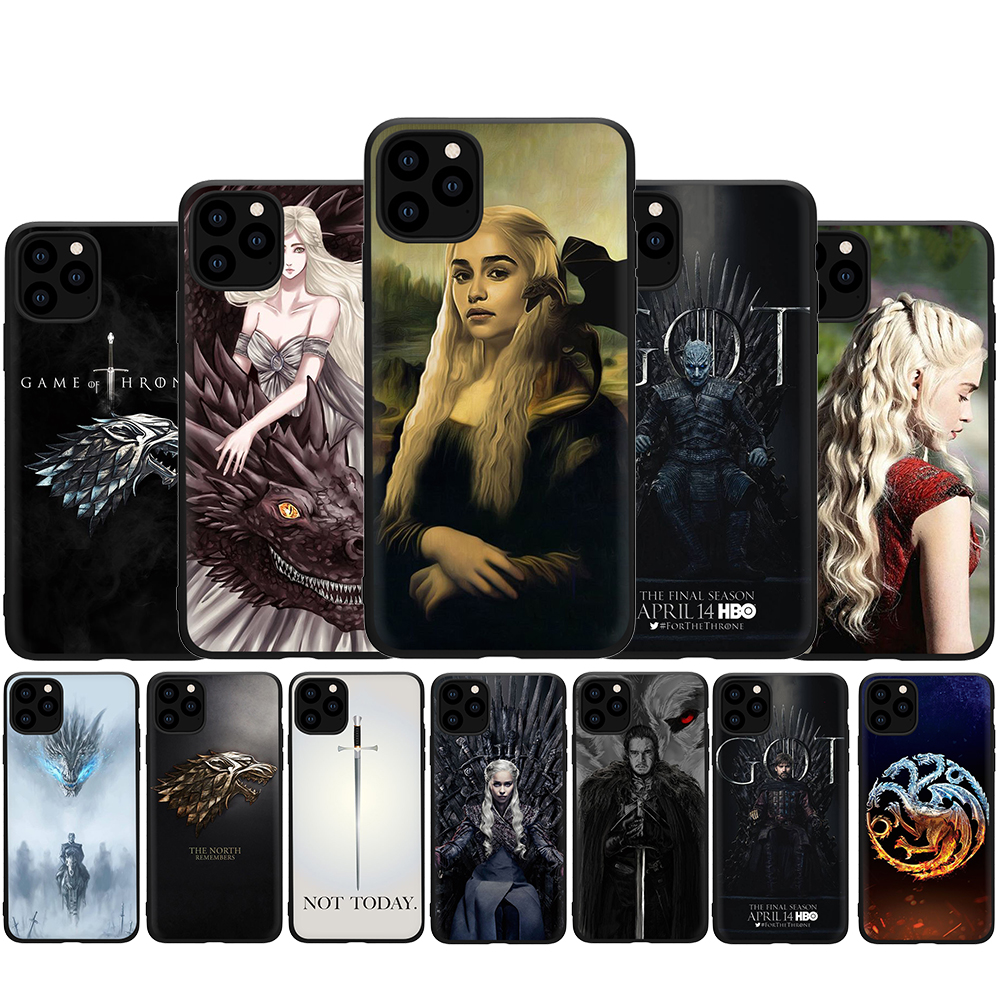 Game of thrones weichen silikon telefon abdeckung fall für <font><b>iphone</b></font> 5 <font><b>5s</b></font> SE 2020 6 6s 7 8 plus X XR XS 11 pro Max image