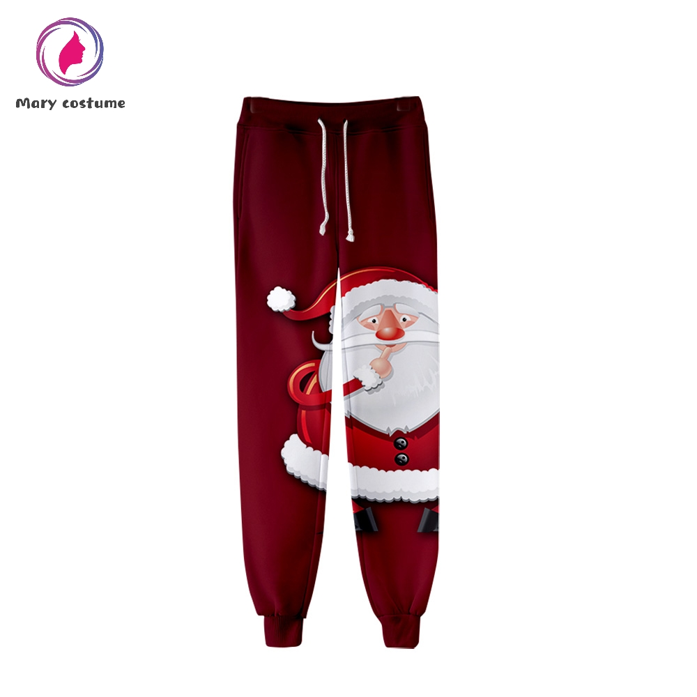 Christmas Women's Trousers High Quality Sports Tight Pants Fashion Popular Trend Comfortable Casual Pants