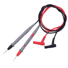 1 Pair Digital Multimeter Probe Soft-Silicone-Wire Needle-Tip Universal Test Leads For LED Tester Multi Meter Tester