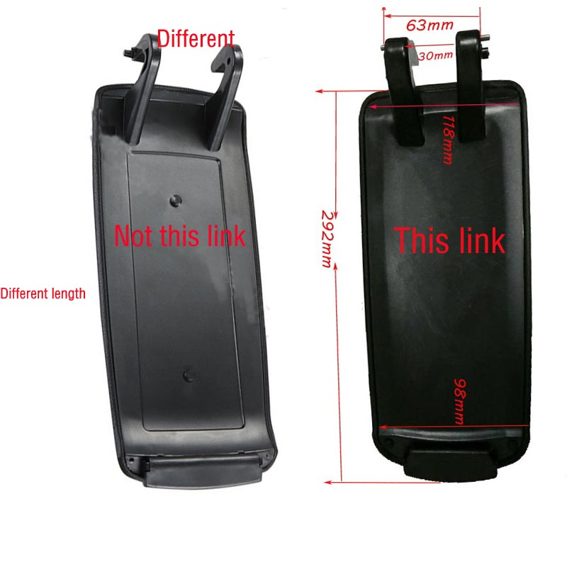 Image 2 - BLACK GREY BEIGE NEW PLASTIC CENTER CONSOLE ARMREST COVER FOR AUDI A4 B6 B7 2002 2003 2004 2005 2006 2007-in Car Stickers from Automobiles & Motorcycles