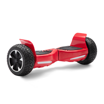 Electric Scooter Red 8.5 Inch Hoverboard Bluetooth All-terrain Self-Balancing Scooter Two Wheels Balance Board Off-road+Key+Bag 1