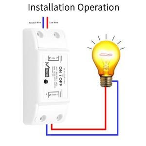 Image 4 - Smart Wifi Switch Wireless Light Timer Switch Remote Control 2pcs/Lot Tuya Smart Life APP works with Alexa Google home  IFTTT