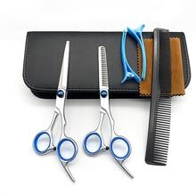 6.0 Professional Hairdressing Scissors Professional Barber Scissors Set Hair Cutting Shears Scissor Haircut