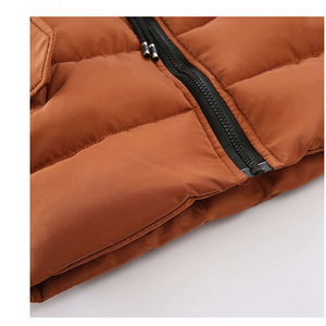 Image 4 - Детские парки пальто с капюшоном детские зимние куртки теплая пуховая хлопковая куртка для девочек и мальчиков, одежда enfant, верхняя одежда плотное пальто