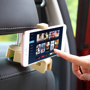 Image 4 - Universal Car Headrest Hook 5kg Max Car Back Seat Hanger with Phone Holder for Bag Handbag Purse Grocery Cloth Easy Install