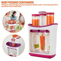 Baby Food Maker Baby Feeding Containers Storage Supplies Newborn Toddler Solid juice maker tool