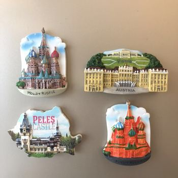 1pc Magneten Aufkleber für Kühlschrank Italien Australien Spanien Russland Harz Kühlschrank Magnet Souvenir Kühlschrank Magnet Dekor