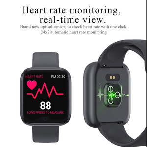 Image 3 - 2020 New Sports Smart Watch Women Men Outdoor Fitness Tracker Heart Rate  Blood Pressure  Bluetooth SmartWatch for Andriod Aple