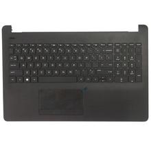 NEW Laptop Palmrest Upper Case keyboard Bezel For HP Pavilion 15-BS 15-BW 15T-BS 250 G6 255 G6 256 G6 925008-001 AM204000100 new laptop lcd back cover for hp 15 bs 15t bs 15 bw 15z bw 250 g6 255 g6 black screen back cover top case 924899 001