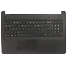 NEW Laptop Palmrest Upper Case keyboard Bezel For HP Pavilio