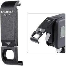 Ulanzi G8 7 Beschermhoes Voor Gopro 9 Hero 8 Zwart Batterij Case Cover Type C Poort Opladen Adapter Vlog accessoire Voor Gopro 9