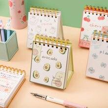 Kawaii 2021 100 дней ежедневник дневник записная книжка Тетрадь