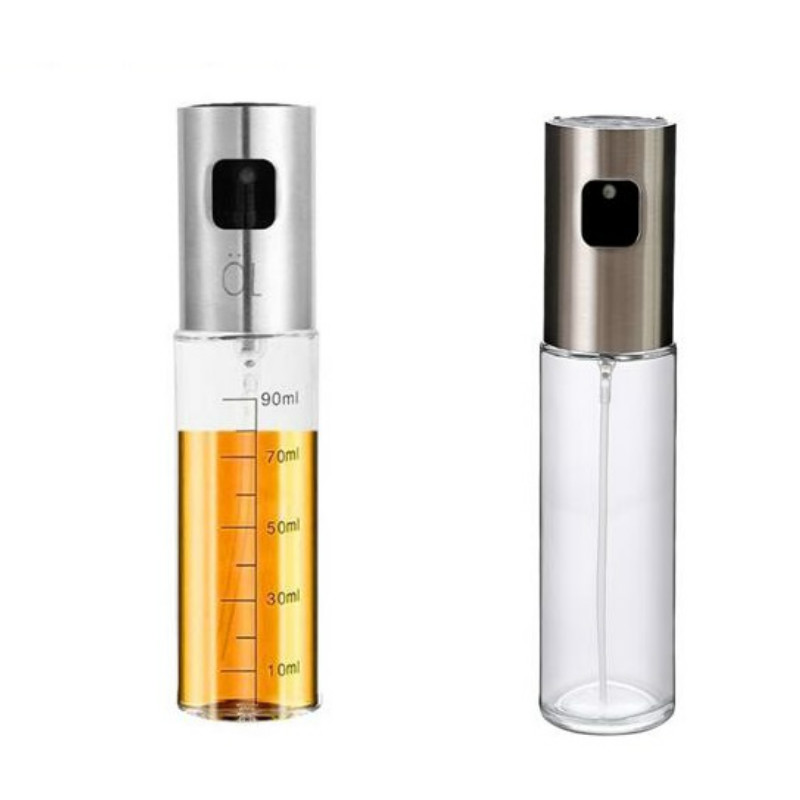 Sprayer Oil-Dispenser Vinegar-Bottle Glass Olive-Oil BBQ Baking Kitchen Salad AP11091505 title=