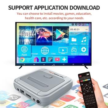 HD 4K TV Video Game Super Console X-pro For PS1/N64/DC 50+ Emulators 50000+ Games 256GB S905X CPU Game Player 1