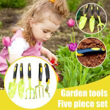 1 zestaw narzędzie ogrodnicze Mini mała łopata Rake Spade wielofunkcyjny kryty ogrodnictwo pielęgnacja roślin dzieci zabawki narzędzia ogrodnicze # Y10 tanie tanio Z tworzywa sztucznego