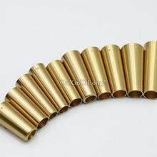 8PCS Brass Covers Furniture Feet Cabinet Leg Chair Feet Protector Sofa Leg Tube Metal Cup Furniture Leg Ferrules