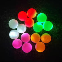 Golf-Balls Flashing Practicing-Light Luminous Activated-Training-Game Led Sports-Glowing