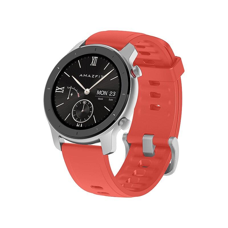Global Version Amazfit GTR Smart Watch GPS 42mm 5ATM Waterproof 24 Days Battery GPS Smart Watch Women Smart Watch