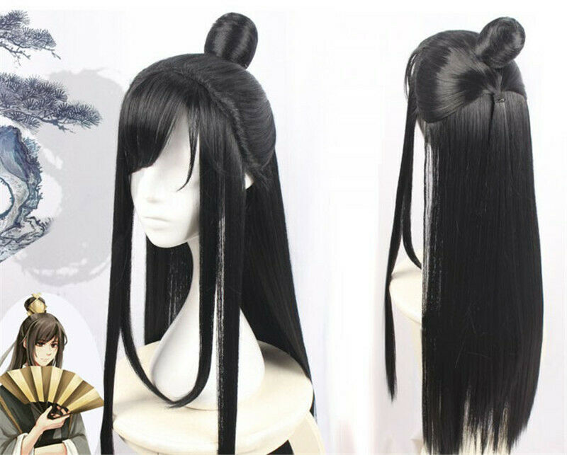 Wielki mistrz demonów uprawy Nie Huaisang peruka do cosplay włosów prezenty dla dorosłych