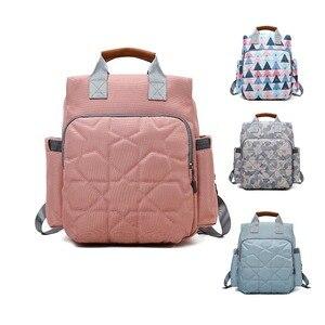 Lequeen сумка для подгузников, сумка для кормления, рюкзак, дорожная сумка, рюкзак с принтом, сумка для мам, Bebe accesorries, большая ВМЕСТИТЕЛЬНОСТЬ