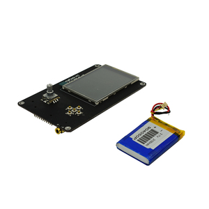 Image 5 - Lusya 3.2 Inch Touch LCD PORTAPACK H2 Console 0.5ppm TXCO With 2100MAh Battery For HackRF SDR Receiver Ham Radio C5 015
