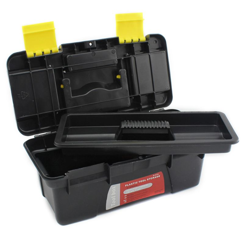 Multi-Function Tool Box Home Vehicle Maintenance Hand-Held Art Portable Hardware Storage Box Repair Tool Box Case