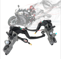 Right Left Sides CNC 19 RCS Motorcycle Brake Master Cylinder Cable Clutch Radial Brake Pump 22mm Universal