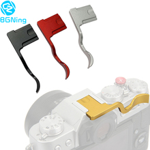Bgning alumínio quente sapato capa polegar up hotshoe polegar up grip para fuji XT 10 xt20 xt3 xt2 X T1 X T2 para câmeras fujifilm X T30