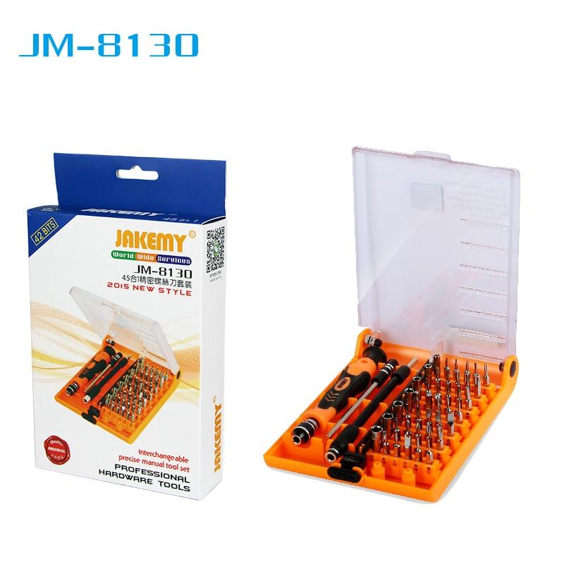 Strumento cacciavite intercambiabile precisione magnetica 45 in 1 set di cacciaviti di strumenti di riparazione adatti per utensili a mano iPhone / iPad