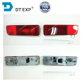 цена на 2003-2007 rear stop lamp for outlander rear bumper lamp for airtrek rear fog lamp without bulb MN150520 MN150519 Warning Lights