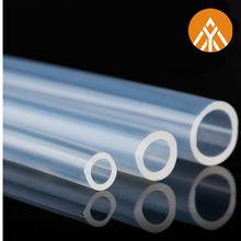 Tube/tuyau en Silicone Transparent de qualité alimentaire, 3 mètres, 4 6 8 10 16 20mm de diamètre extérieur, Flexible, en caoutchouc, pour le gel de silice et la bière